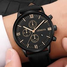 NEW Luxury GENEVA <b>Watch High Quality men</b> Dress <b>Watch</b> 2019 ...