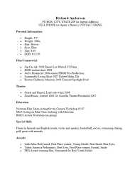 acting resume sample free fax cover letter example resume are     theater resume template resume acting resume sample resume resume theater  resume template