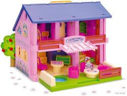 Дом для <b>кукол</b> (арт. <b>25400</b>) <b>Wader</b> — купить в Минске - OZ.by