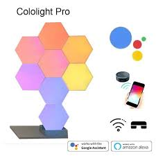 2019 <b>New Quantum Lamp</b> DIY LED Night Light Creative Geometry ...