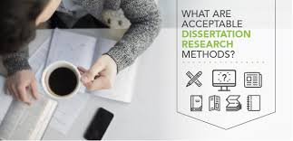 What Are Acceptable Dissertation Research Methods  Capella University