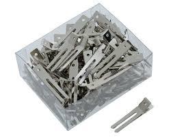 <b>Зажимы Sibel металлические</b> маленькие 100 шт 9340237 ...