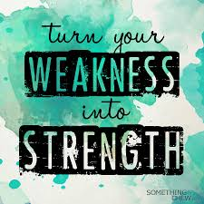 something to chew  springfield clinic turn your weakness into strength