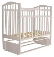 <b>Кроватка Агат Золушка</b>-5 (классическая), продольный маятник ...