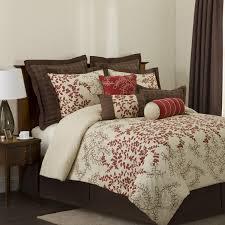 dark brown red bedroom