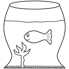 fish bowl coloring page printable goldfish bowl template fish bowl coloring page printable goldfish in a fish bowl coloring page fish