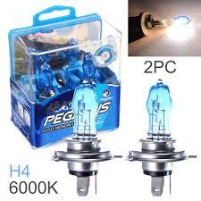 <b>2pcs H4</b> 100W White <b>Light</b> Super Bright Car HOD Xenon Halogen ...