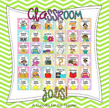 jobs in the classroom a cupcake for the teacher take a look at the job options