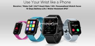 <b>Zeblaze GTS Smartwatch</b> Review: Comes 1.54inch Touch Screen ...