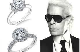Resultado de imagen de karl lagerfeld wedding rings