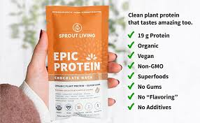 Epic Protein, Organic Plant Protein + Superfoods ... - Amazon.com