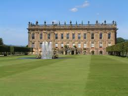 england style steps: the south front and the south lawn with the seahorse fountain the exterior steps are a th century replacement for the original horseshoe shaped steps
