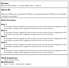 what does a good resume look like     – summer of techso what does a good resume look like