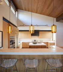 kitchen linear dazzling lights clear ceiling recessed: our pod pendant lights in amber glass really complement the golden glow of this sun drenched idaho home designed by jennifer hoey interior design