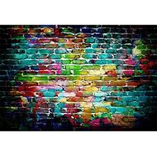 <b>Laeacco</b> 5x3ft <b>Colorful Brick</b> Wall Backdrop for: Amazon.in: Electronics