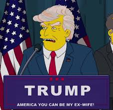 Image result for Homer Simpson and Trump