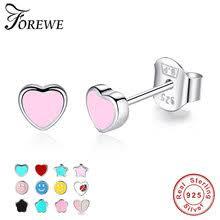 Popular Small Earrings 925 Silver Fine-Buy Cheap Small Earrings ...