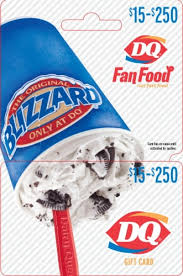 Dairy Queen $15-$250 Gift Card – Activate and add value after ...