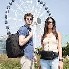 Travelon Anti-Theft <b>Waist Pack</b>, Black, One Size: Amazon.ca ...