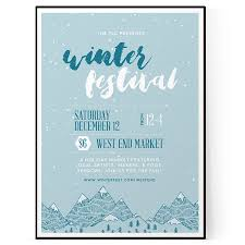 flyer template the flyer press winter festival flyer template psd docx