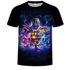 <b>2019 Marvel Avengers</b> Print Summer Short Sleeve T Shirt <b>Menswear</b> ...