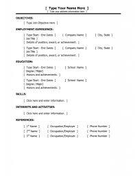 resume template microsoft word basic resume templates basic resume template example