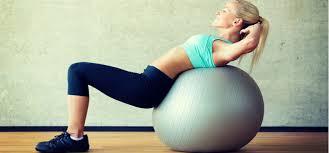 Инструкция: как выбрать <b>мяч</b> для фитнеса (фитбол) по размеру и ...