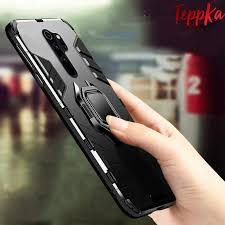 TeppKa <b>Armor Shockproof Ring Holder</b> Case For Xiaomi Redmi ...