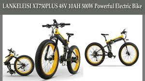 Best Ebike: <b>LANKELEISI XT750PLUS 48V</b> 10AH 500W Powerful ...