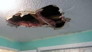 Image result for bad spackle job on ceiling