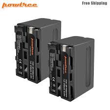 <b>powtree</b> 8700mAh NP F960 NP F970 Camera Battery+LCD Charger ...
