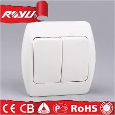 High Quality 220V Electrical <b>Power Home</b> Lighting <b>Wall Switch</b>