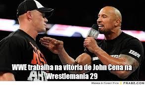 WWE trabalha na vitória de John Cena na Wrestlemania 29... - Meme ... via Relatably.com