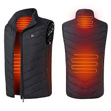 Imixshop Men's Lightweight Insulated <b>Heated Vest</b> USB Electric ...