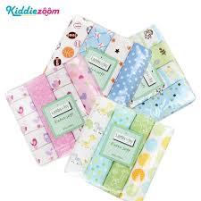 Baby Blankets <b>100</b>%<b>Cotton Flamingo Rose fruits</b> Print Muslin ...
