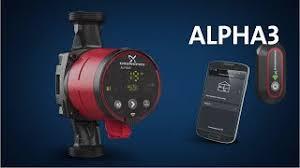 Купить Поверхностный <b>насос Grundfos ALPHA3 25-60</b> A 180 в ...