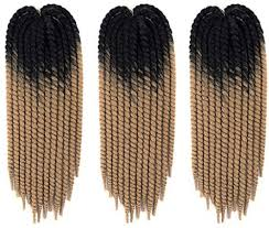 Passion Twist <b>Hair</b> 5 Packs 22 inch Ombre Color <b>Spring Twist</b> ...