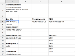 custom designed google sheets templates xfive figure 5