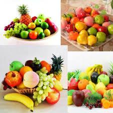 <b>1pcs</b> Fake Food Lifelike Artificial Plastic <b>Fruit Vegetables</b> Home Kids ...