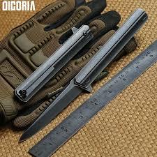 <b>DICORIA</b> Quartermaster M390 blade TC4 <b>titanium</b> Tactical ball ...