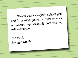 teacher appreciation letter best letter examples how to write a letter of appreciation to your teacher 13 steps p89qomzs