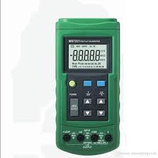 2019 <b>Mastech MS7221 Volt/MA Source</b> Voltage Current Calibrator ...