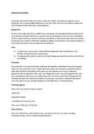 Paranoid schizophrenia case study example   durdgereport    web     FC