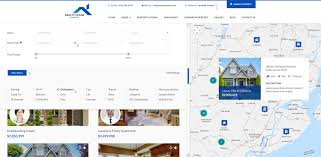 realty house real estate psd template by diadea3007 themeforest 09 property listing map view dropdown filters jpg