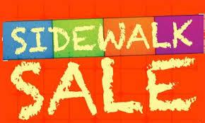 Image result for sidewalk sale books