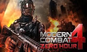 Modern combat 4 Zero Hour v1.2.2e Android apk game. Modern ...
