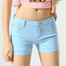 2019 <b>Zogaa</b> Korean Style <b>Women</b> Denim <b>Shorts</b> Vintage Mid Waist ...