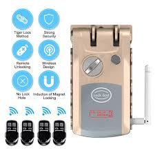 B&Y    COD Intelligent Remote Control Lock Invisible Anti-theft ...