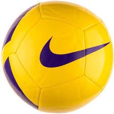 <b>Мяч футбольный NIKE Pitch</b> Team р.5, желтый купить недорого в ...