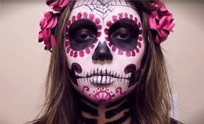 rather than blending bining and applying countless colors create an intricate yet straightforward and gorgeous diy sugar skull by adding just a small